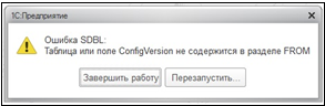 Хатои Configversion